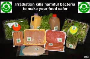 irradiated food