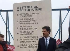 Ed miliband's stone manifesto