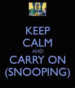 snooping 1