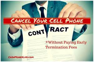 cancellation charge notice