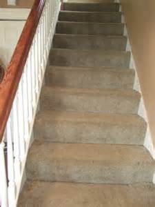 carpeted staircase